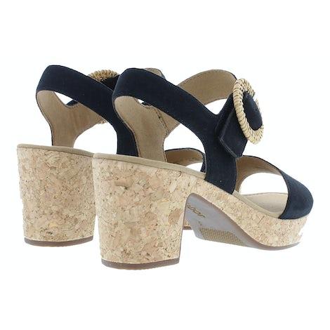 Gabor 65.760.17 schwarz Sandalen Sandalen