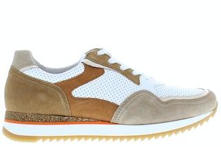 Gabor 66.036.53 weiss beige Damesschoenen Sneakers