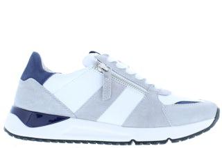 Gabor 66.478.40 weiss lt grey Damesschoenen Sneakers