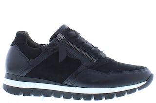 Gabor 76.438.67 schwarz Damesschoenen Sneakers