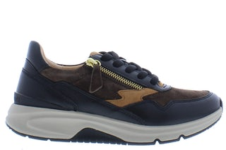 Gabor 76.898.43 brown Damesschoenen Sneakers