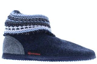 Giesswein Kiel 514 nachtblau Damesschoenen Pantoffels