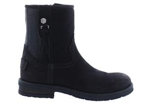 Giga 3506 black Meisjesschoenen Booties en laarzen