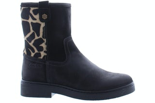 Giga 3512 black Meisjesschoenen Booties en laarzen