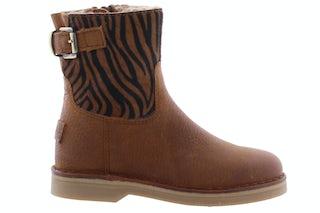 Giga 3557 zebra cognac Meisjesschoenen Booties en laarzen