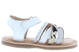Gios Eppo 93005 02 white Meisjesschoenen Sandalen en slippers