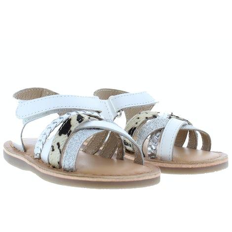 Gios Eppo 93005 02 white Sandalen en slippers Sandalen en slippers