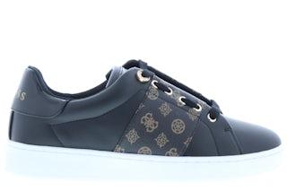 Guess Rejeena FL7RJA black brown Damesschoenen Sneakers