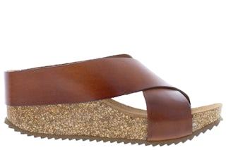 HEE 21084 cuero Damesschoenen Slippers