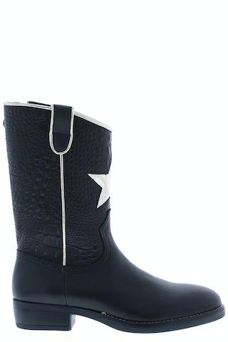 HIP H1845 black Meisjesschoenen Booties en laarzen