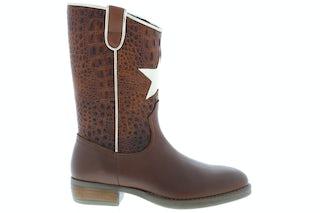 HIP H1845 chestnut Meisjesschoenen Booties en laarzen
