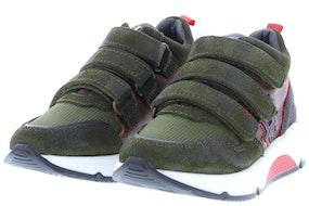 HIP H1929 groen Jongensschoenen Klittebandschoenen
