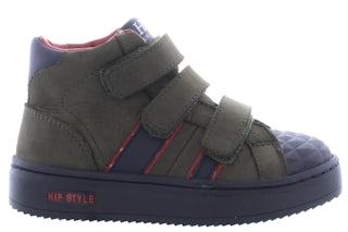 HIP H1944 green Jongensschoenen Klittebandschoenen
