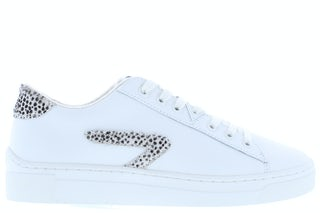HUB Hook-Z off white cheeta Damesschoenen Sneakers