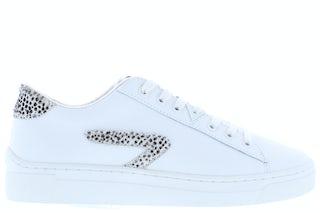 HUB Hook-Z off white cheeta Damesschoenen Sneakers