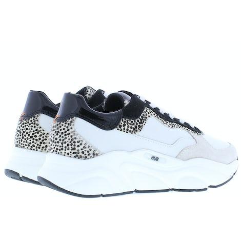 HUB Rock off white cheeta Sneakers Sneakers