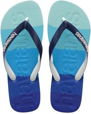 Havaianas Top Logomania Multicolor gradient marine Herenschoenen Slippers