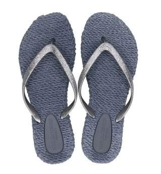 Ilse Jacobse Cheerful 01 indigo Damesschoenen Slippers