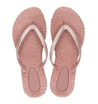 Ilse Jacobse Cheerful 01 misty rose Damesschoenen Slippers