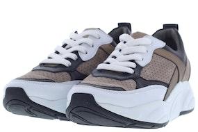 K+S Shoes 19640 727 bi taupe gol Damesschoenen Sneakers