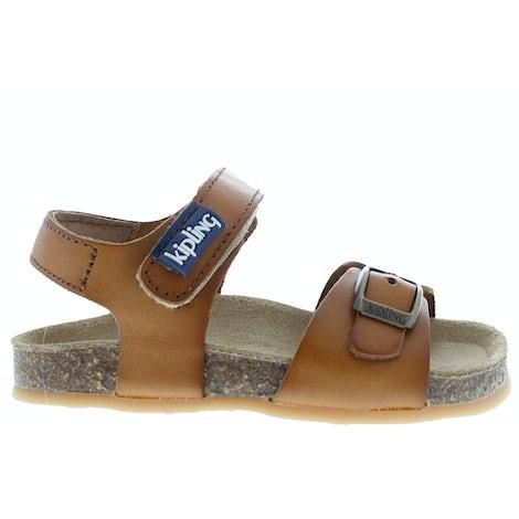Kipling Fabio cognac Sandalen en slippers Sandalen en slippers