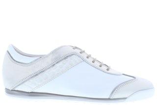 La Cabala 902004 plat white Damesschoenen Sneakers