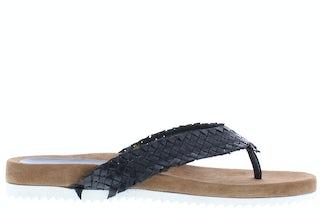 Lazamani 33.750 black Damesschoenen Slippers