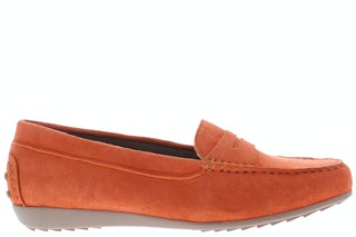 Lazamani 53.494 orange Damesschoenen Mocassins