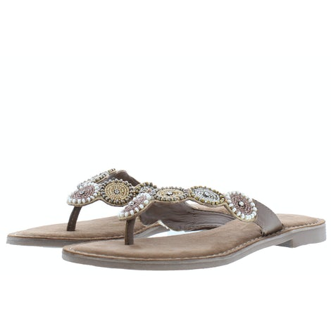 Lazamani 75.451 beige Slippers Slippers