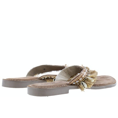 Lazamani 75.674 beige Slippers Slippers