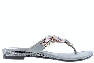 Lazamani 85.308 grey Damesschoenen Slippers