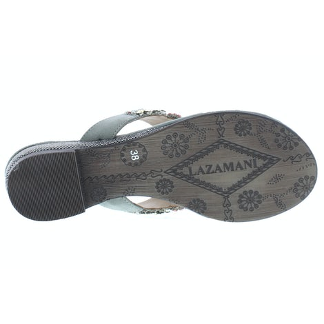Lazamani 85.308 grey Slippers Slippers