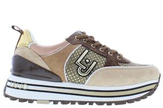 Liu Jo Maxi wonder 20 BF1053PX171 beige Damesschoenen Sneakers