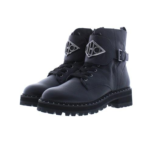 Liu Jo Pink 127 SF1017PX1082 black Booties Booties
