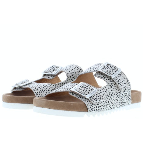 Maruti Bellona pixel off white Slippers Slippers