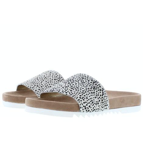 Maruti Berlin pixel off white Slippers Slippers