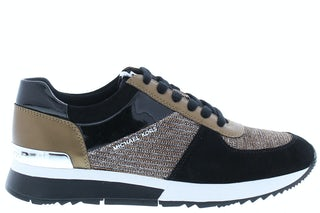 Michael Kors Allie trainer black bronze Damesschoenen Sneakers