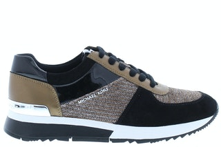 Michael Kors Allie trainer black bronze 141930007 01