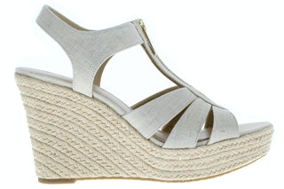 Michael Kors Berkley wedge pale gold Damesschoenen Sandalen