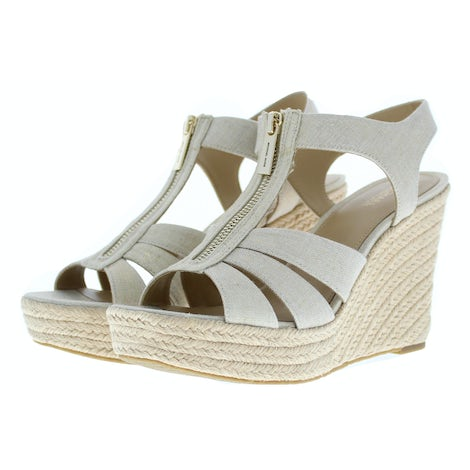 Michael Kors Berkley wedge pale gold Sandalen Sandalen