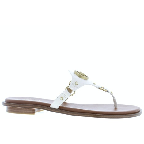 Michael Kors Conway sandal lt cream Slippers Slippers