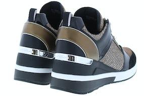 Michael Kors Georgie trainer black bronze Damesschoenen Sneakers