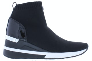 Michael Kors Skyler trainer black optic whit Damesschoenen Sneakers