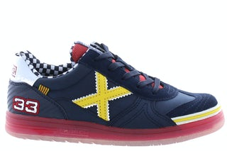 Munich 1511151 navy yellow Jongensschoenen Sneakers