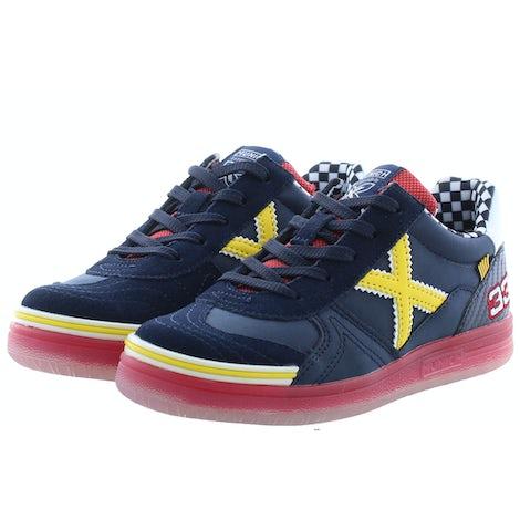 Munich 1511151 navy yellow Sneakers Sneakers
