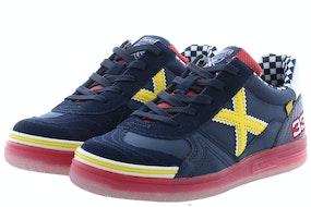 Munich 1511151 navy yellow Jongensschoenen Sneakers