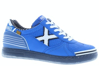 Munich 1511183 blue white Jongensschoenen Sneakers