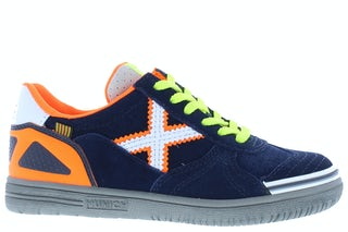 Munich 1511195 navy orange Jongensschoenen Sneakers