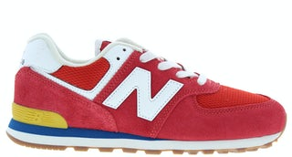 New Balance GC574 HA2 team red Jongensschoenen Sneakers