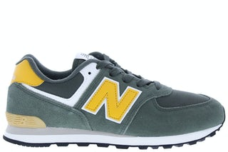 New Balance GC574 MP2 black spruce Jongensschoenen Sneakers